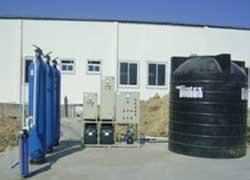 Skid Mounted Sewage Plant